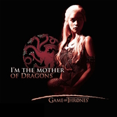 GAME OF THRONES - T-Shirt Mother Of Dragons Femme (S)