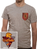 T-shirt Harry Potter : Maison Gryffondor - XL