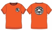 DRAGON BALL Z - T-Shirt KIDS Symbol - ORANGE (12 ans)