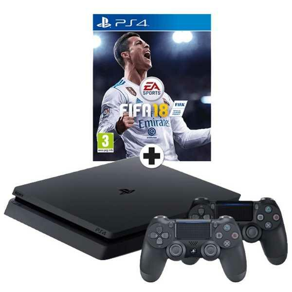console ps4 slim fifa 18 1 dualshock 4 v2 1 to. Black Bedroom Furniture Sets. Home Design Ideas