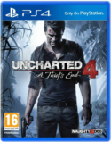 Uncharted 4 A Thief's End - PS4