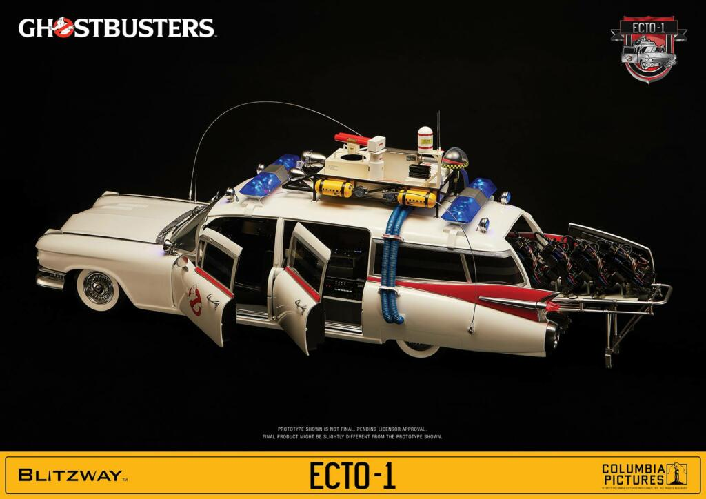 ghostbusters ecto 1 1959 cadillac 116cm acheter vendre sur r f rence gaming. Black Bedroom Furniture Sets. Home Design Ideas