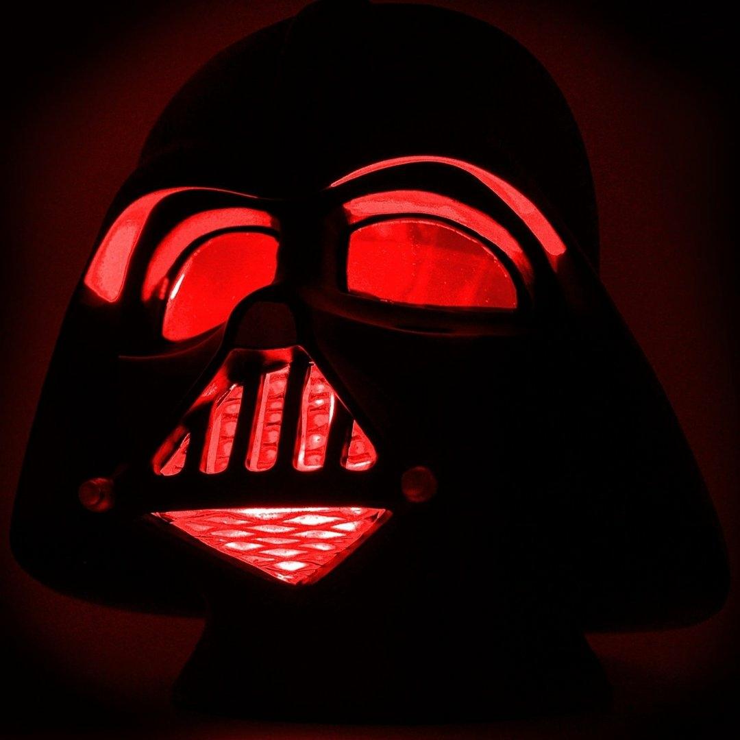 star wars - lampe mood light - dark vador helmet large (25cm