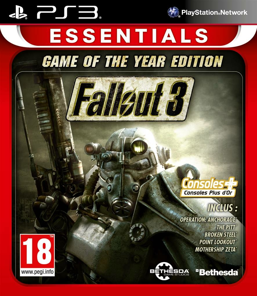 PS3 Fallout 3: Game of the Year Edition USA/RUS » Торрент ...
