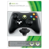 Manette sans fil noire + Kit Play and Charge - XBOX 360