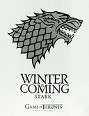 GAME OF THRONES - Chope - Stark