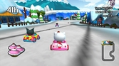 Hello Kitty & Sanrio Friends 3D racing - 3DS