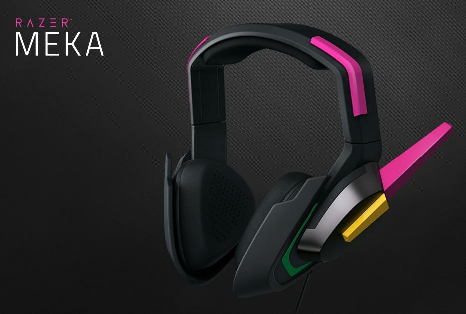 Razer Casque Gaming Filaire Meka Dva Ed Overwatch Pc