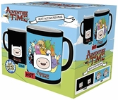 Mug Thermo Réactif  Adventure Time : 300 ml - Characters