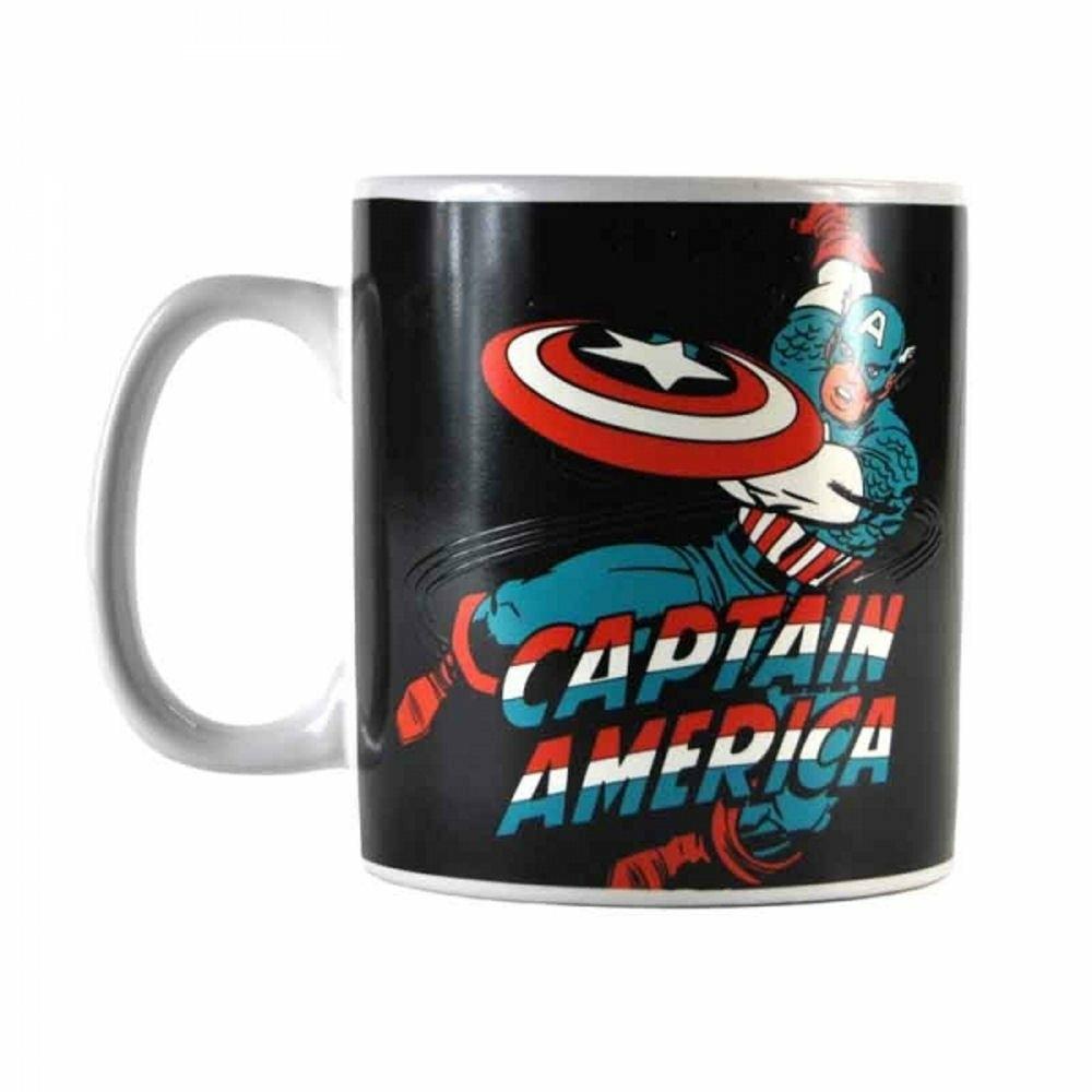 Mug Réactif Marvel400 Ml Gaming Captain Référence America Thermo N80kOwPnX