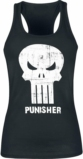 Débardeur Femme Marvel : Logo The Punisher - L