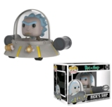 Figurine POP Ride RICK & MORTY N° 34 - Space Cruiser LIMITED