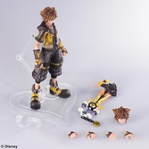 KINGDOM HEARTS III - Bring Arts figurine - Sora Guard Form - 16cm
