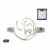Bague Acier Star Wars : Alliance Rebelle / Empire - Taille 52