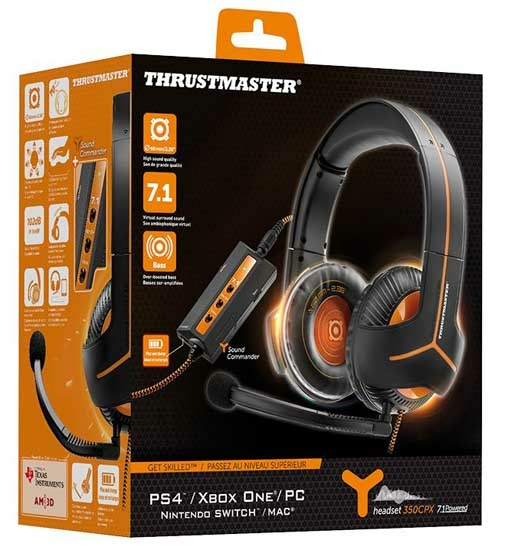 casque thrustmaster y-350cpx 7.1 ps4
