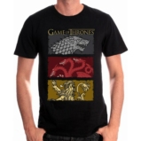 GAME OF THRONES - T-Shirt The Houses of the King - L