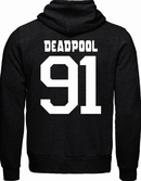 DEADPOOL - MARVEL - Sweat Black/Grey Deadpool 91 (M)