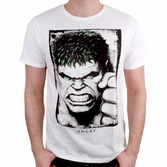 T-Shirt Marvel : Hulk Eyes Rayon Gamma - XL