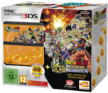 New 3DS Noire + Jeu + Coque Dragon Ball Z Extreme Butoden