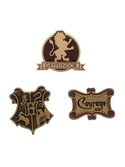 HARRY POTTER - 3 Pack Label Pins - Gryffindor