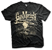 T-Shirt Gas Monkey Garage : Clé à molette - S