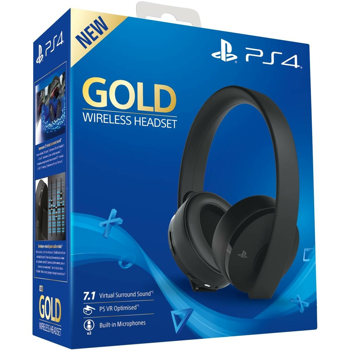 Casque sans fil Gold 7.1 - PS VR - PS4