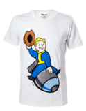 T-Shirt Fallout 4 Vault Boy Bomber - Taille L