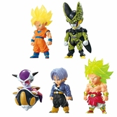 Figurine Dragon Ball Z Mascotte The Adverge Collection - Boite 10 pcs
