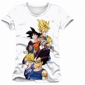 T-Shirt Dragon Ball Z : Battle Sayan - M