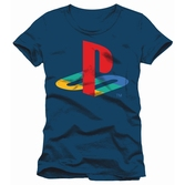 T-Shirt PlayStation : Logo Classic - S