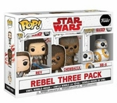 Figurines POP Star Wars 3-Pack - Rebel