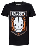 T-Shirt Call Of Duty Black Ops III Logo + Crâne - Taille M