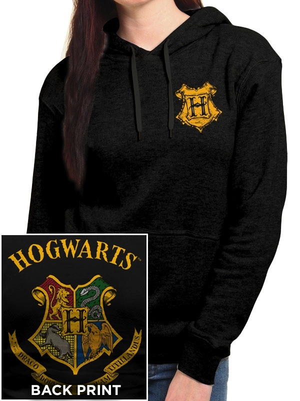 ac860d4aafc4 Sweat-Shirt à Capuche Femme Harry Potter   Poudlard - L   Référence ...