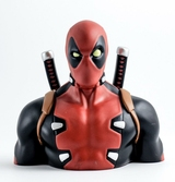 MARVEL - Tirelire Boite Blister - Deadpool Bust 20 cm