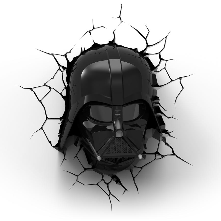 Lampe Déco 3d Star Wars Dark Vador Référence Gaming