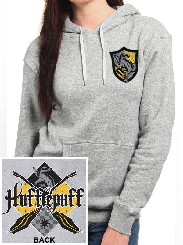 d50f1a21d436 Sweat-Shirt à Capuche Femme Harry Potter   Poufsouffle - L ...