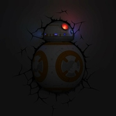 Lampe Déco. 3D Star Wars BB-8