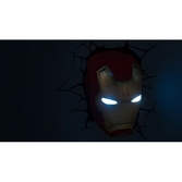 Lampe Déco. 3D Marvel Iron Man