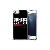 Coque iPhone 7 Gamers : Don't Die, They Respawn - Apple