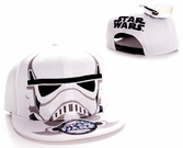 Casquette Snapback Star Wars : Casque Stormtrooper's