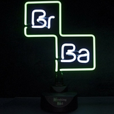 Lampe Néon Breaking Bad Logo - 27 X 36 cm