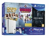 Console PS4 Slim Blanche Playlink - 500 Go - PS4