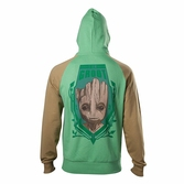 Sweat-Shirt à Capuche Les Gardiens de la Galaxie : Groot - S