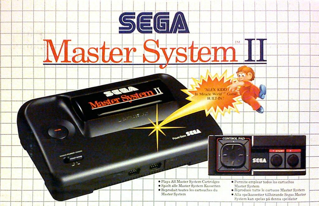Console master system 2 alex kidd sega acheter vendre sur r f rence gaming - Console sega master system 2 ...