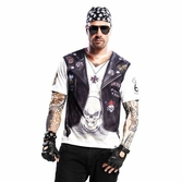 T-Shirt Cosplay Sons Of Anarchy : Hell Boy - S