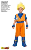 Cosplay Dragon Ball Super : Son Goku Super Saiyan - 13-14 ans