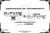 R-Type III & Super R-Type édition Collector - Super Nintendo