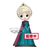 DISNEY - Q Posket Elsa Coronation Pastel Color Version - 14cm