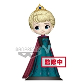 DISNEY - Q Posket Elsa Coronation Normal Color Version - 14cm