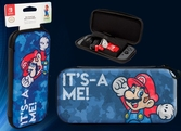 Pochette de transport Slim : Mario Camo - Switch